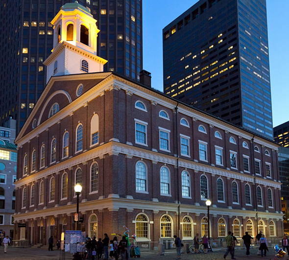 Boston's Faneuil Hall & Quincy Market
