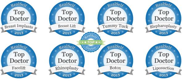 RealSelf Top Doc 2013 in 8 Procedures