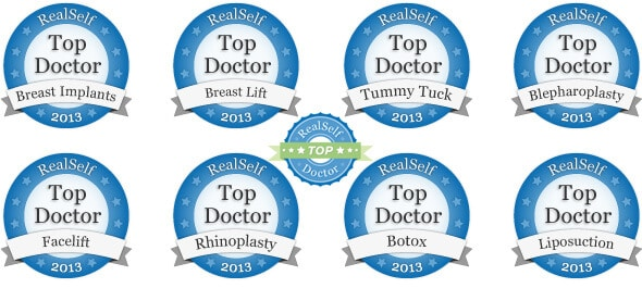 RealSelf Top Doc 2013 in 8 Procedures